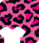 "Siser 12"" x 12"" Leopard Pink HTV Patterns"