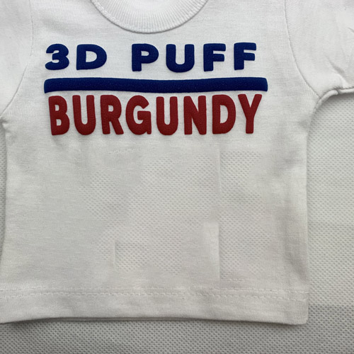 Fashion 3d PUFF Heat Transfer Vinyl - Burgundy