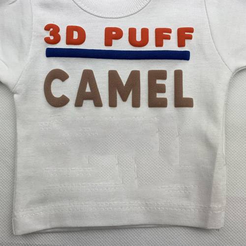 Fashion 3d PUFF Heat Transfer Vinyl - CAMEL