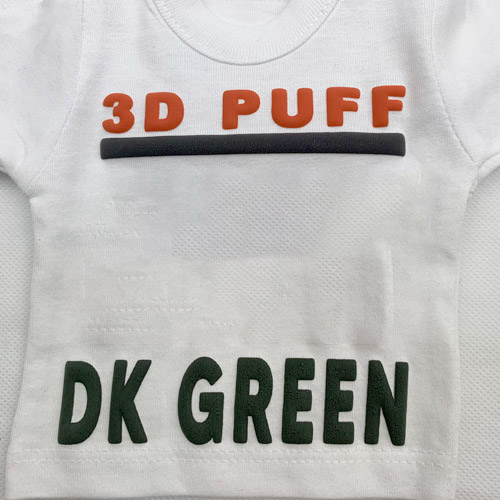Fashion 3d PUFF Heat Transfer Vinyl - DARK GREEN