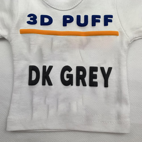 Fashion 3d PUFF Heat Transfer Vinyl- DARK GREY