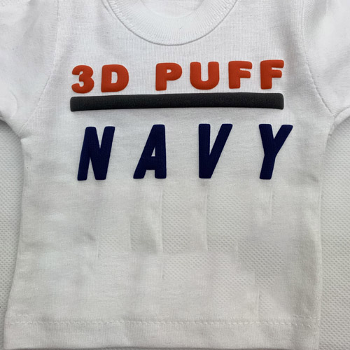 Fashion 3d PUFF Heat Transfer Vinyl - NAVY