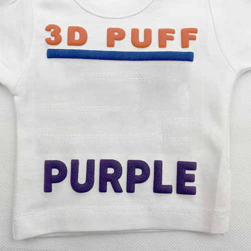 Fashion 3d PUFF Heat Transfer Vinyl - PURPLE