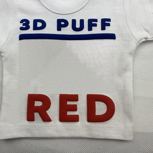 Fashion 3d PUFF Heat Transfer Vinyl - RED