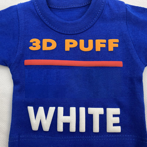 Fashion 3d PUFF Heat Transfer Vinyl - WHITE