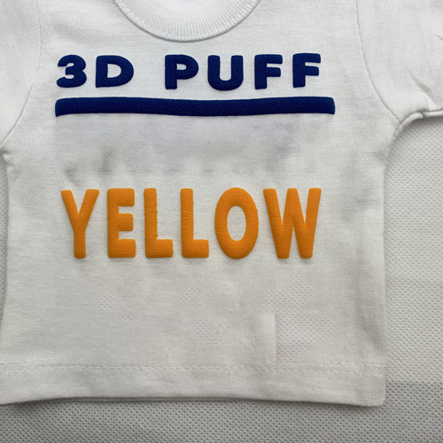 Fashion 3d PUFF Heat Transfer Vinyl - YELLOW