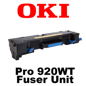 Oki Data Pro920WT LED CMYW Laser Printer Fuser Unit