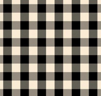 "Siser 12"" x 18"" Buffalo Black / Whitek plaid HTV Patterns"