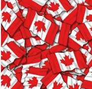 "Canadian flag 12"" X 18"" HTV PATTERNS"