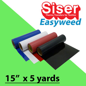 Siser EasyWeed Heat Transfer 15 in x 5 Yards