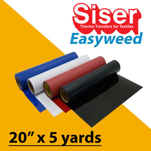 Siser EasyWeed Heat Transfer 20in x 5 Yards