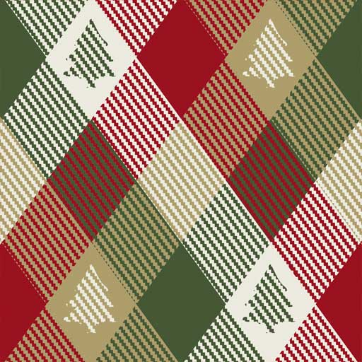 "Siser 12"" x 12"" Christmas Plaid"