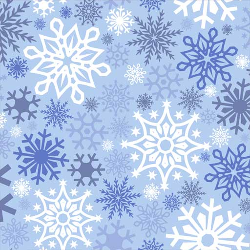 "Siser 12"" x 12"" Snow Flakes Pattern"