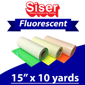 Siser Neon Fluorescent 15in x 10 Yards