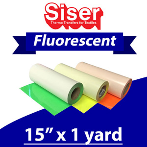 Siser Neon Fluorescent 15in x 1 Yard