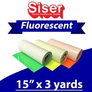 Siser Neon Fluorescent 15in x 3 Yards