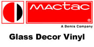 MACtac Glass Decor Vinyl 24'' x 10yd - Frosted