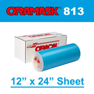 "Oracal 813 Stencil Films 12"" x 24"" sheet"