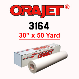 ORAJET 3164 Soft Calendered PVC Print Media 30 in x 50 Yard