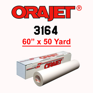 ORAJET 3164 Soft Calendered PVC Print Media 60 in x 50 Yard