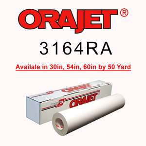 ORAJET 3164RA Calendered Digital Media with RapidAir Technology