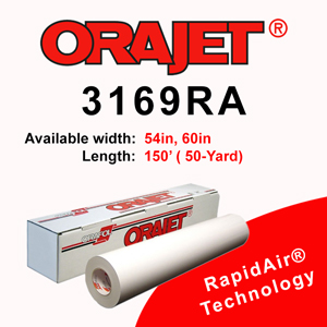 ORAJET 3169RA Intermediate Digital Media with RAPIDAIR Tech.