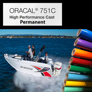 "ORACAL751C High Performance Cast over 8 years 12"" x 24"""