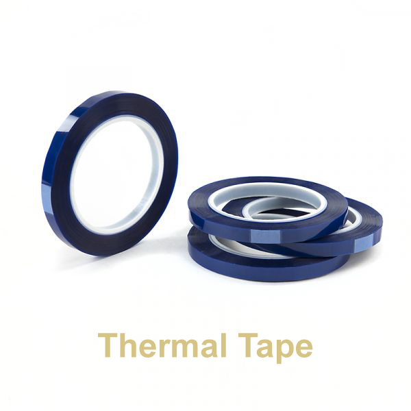 "Blue Thermal Tape for Coffee Mugs Heat Press Prints 3/8"" width"