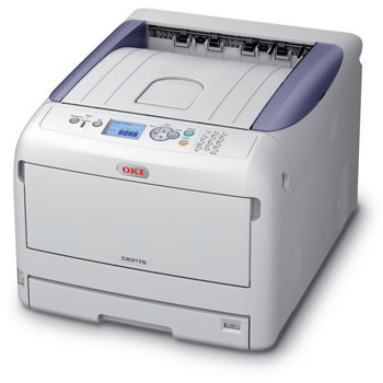 "OKI proColor C831TS CMYK LED laser Printer 11"" X 17"""