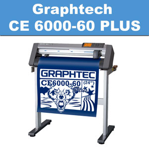 "Graphtec CE6000-60 PLUS 24"" Professional Vinyl Plotter mac/pc"