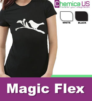 "20"" Roll Magic Flexi ""3D puffed"" Heat Transfer Vinyl"