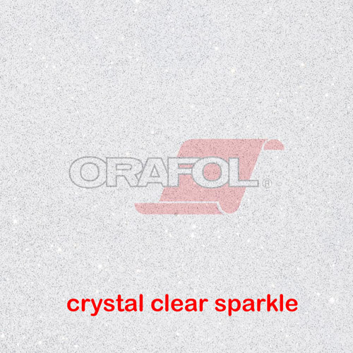 Oracal 851 SPARKLING GLITTER METALLIC - Crystal Clear