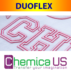 "DUOFLEX - 12"" x 20"" Decorative Heat Transfer Film"