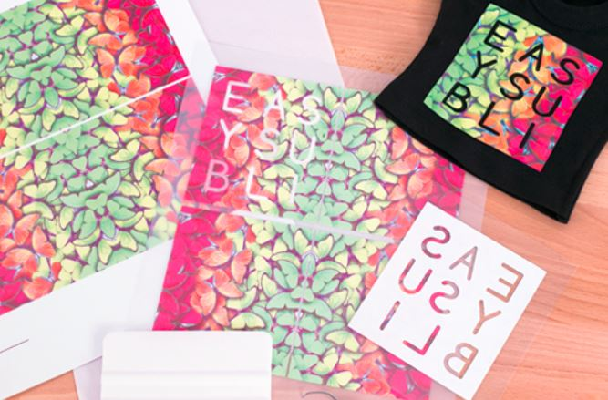 Siser EasySubli Heat Transfer Vinyl 12 x 20 sublimation