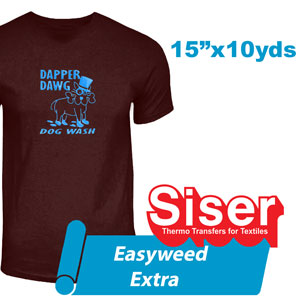 "Siser EasyWeed Extra 15"" x 10 yds"