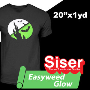 Siser EasyWeed Glow in the Dark 20'' x 1yd
