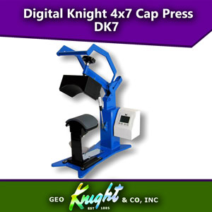 Geo Knight Digital Knight 4x7 Cap Heat Press