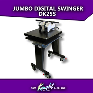 "Jumbo Digital Swinger heat press 20""x25"" DK25S"