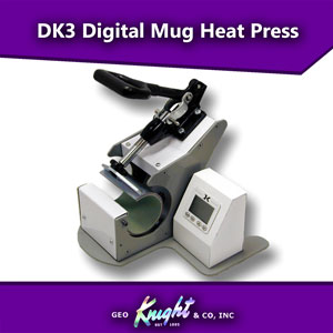 Geo Knight DK3 Digital Mug Heat Press