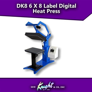 Geo Knight Digital Knight 6x8 Label Heat Press