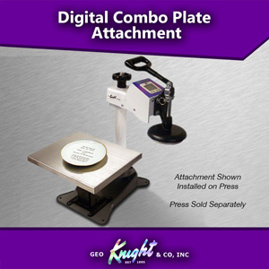 Geo Knight Heat Press DC-PLATE Attachment