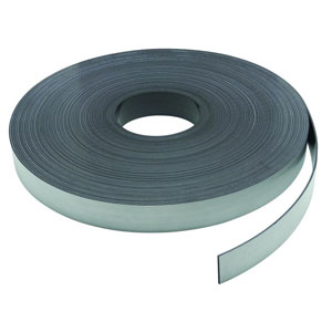"Magnetic Strip1/2""(W)x0.060""(T)x100'(L) w/Pressure Sensitive Adh"