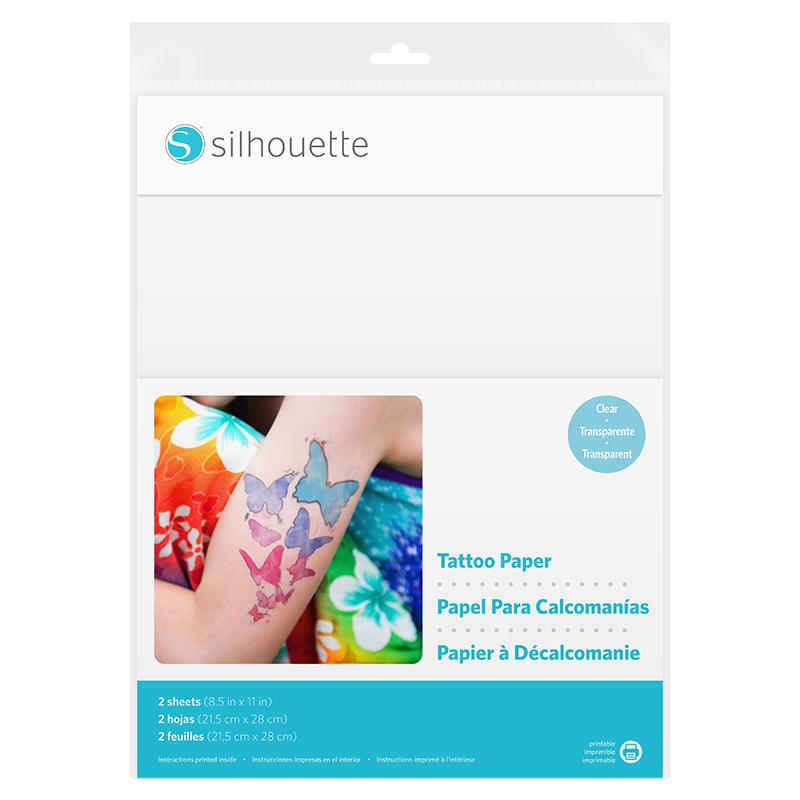 "TEMPORARY TATTOO PAPER 8.5""x11"" x 5 pcs total 10 sheets"