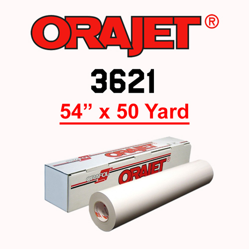 ORAJET 3621 Soft Calendered PVC Print Media 54 in x 50 Yard