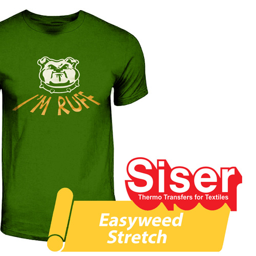 Siser SUPER STRETCH Heat Transfer 15in - By the Yard