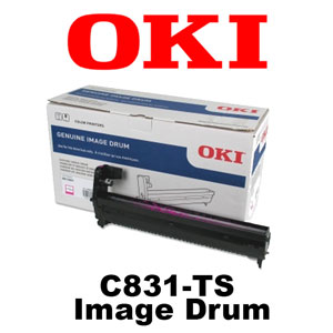 Oki Data C831-TS LED CMYK Laser Printer Image Drum