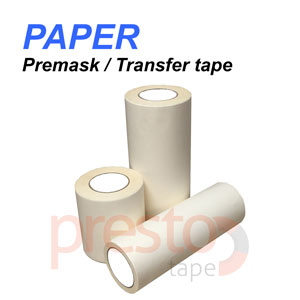 "6"" x 100FT Application Transfer tape - Paper High Tack Premask"