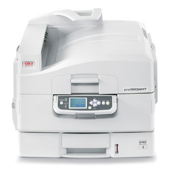 "OKI proColor pro920WT White Toner LED laser Printer 12"" x 47"""