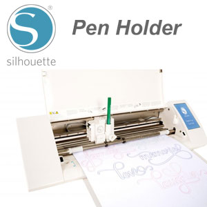 Silhouette Pen Holder For Cameo Or Portrait Silhouette