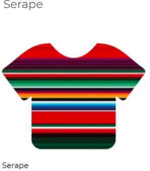 "Siser 12"" x 12"" Serape Color HTV Patterns"